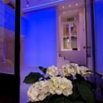 Spazio Theca - ingresso - decorazioni floreali