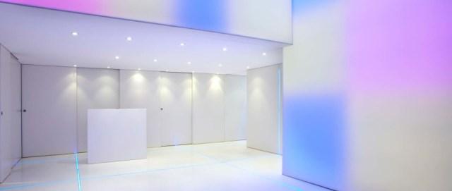 Sala ingresso Spazio Theca per eventi a Milano